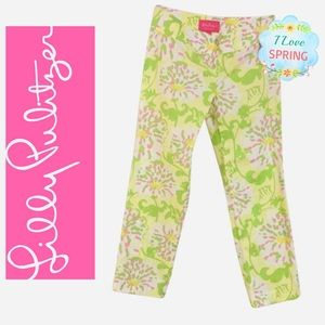 Lilly Pulitzer Jubilee Grayson Pant Lilly Leaves